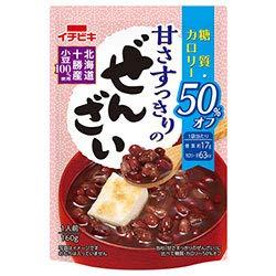 イチビキ 甘さすっきりのぜんざい 糖質・カロリー50%オフ