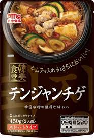 丸大食品 テンジャンチゲ 鍋の素