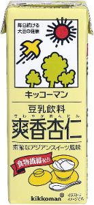 キッコーマン 豆乳飲料 杏仁豆腐
