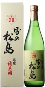 大和蔵酒造  雪の松島 辛い日本酒